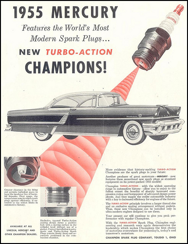 We are the champions! By which, I do not mean spark plugs!