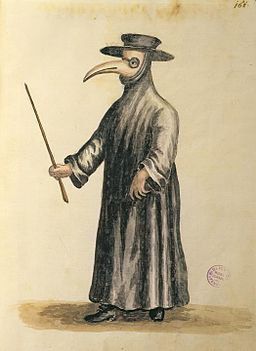 Also, I haven't woken up to see a plague doctor looming over me. So that's good news.