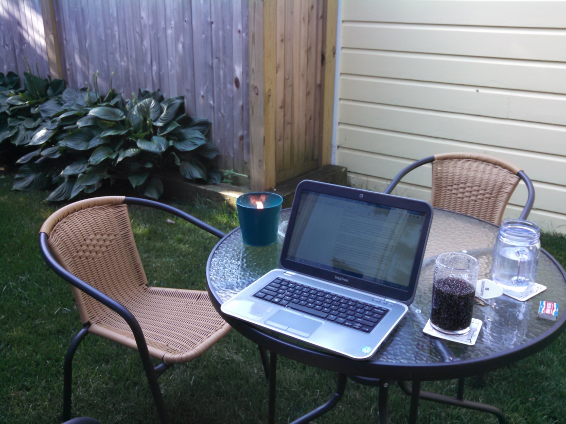New outdoor office.